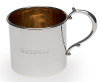 Sterling Silver Straight Sided Mug
