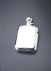 Sterling Silver 4oz Bayonet Top Hip Flask