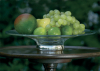 Crystal & Sterling Silver Sienna Fruit Bowl