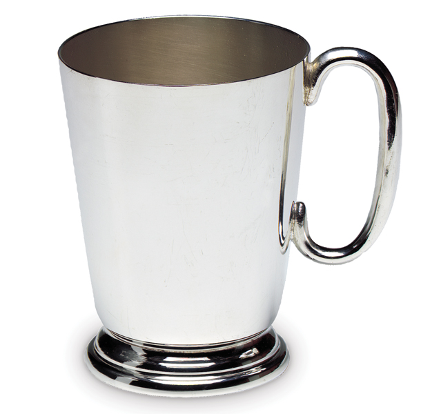 Silver Plated Straight Tankard Silver Direct