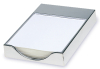 Silver Plated Desk Top Note Pad