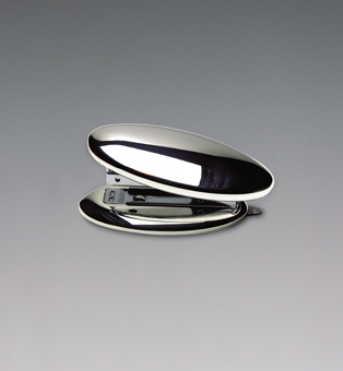 Silver Plated Oval Stapler Silver Direct