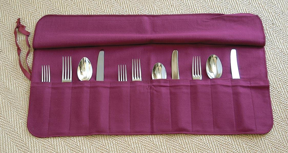 cutlery roll up machine
