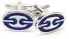 Sterling Silver Nautical Chain Cufflinks