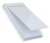 Silver Plated Plain Desk Pad
