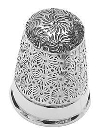 Sterling Silver Sewing Thimble