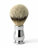Chrome Plated Badger Shaving Brush