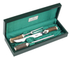3 Piece Stag Horn Carving Set in Presentation Box