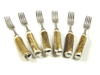 Stag Horn Steak Fork - Set of 6
