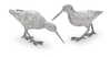 Sterling Silver Snipe Pair