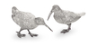Sterling Silver Woodcock Pair