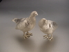 Sterling Silver Grouse Pair Full Size