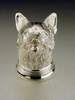 Sterling Silver Fox Stirrup Cup
