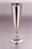 Sterling Silver Champagne Flute