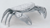 Sterling Silver Crab Serving Dish