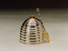 Sterling Silver & Gold Honey Pot Set By Paul Storr