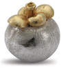 Sterling Silver & Gilt Mangosteen