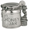 Pewter Coin Box/Money Jar