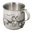 Pewter Winnie The Pooh Baby's Mug - Where's Eeyores Tail